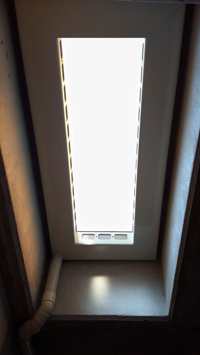 Griglia per bocca di lupo per problemi di umidit e - Bocca di lupo finestra ...