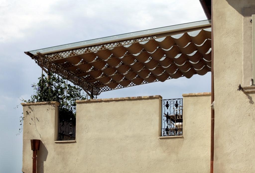 Portico per terrazza - Complementi d\'arredo
