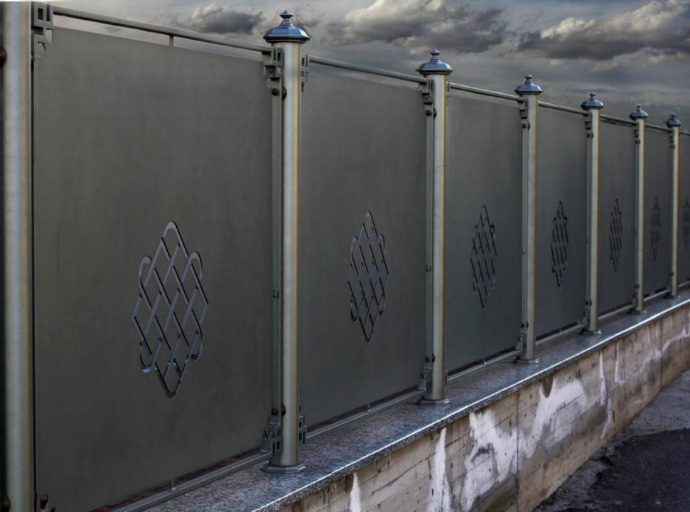 Très Recinzioni in ferro battuto modulari e su misura VL61