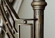 Iron banister and railings for balconies
