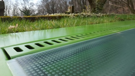 Green aeration skylight